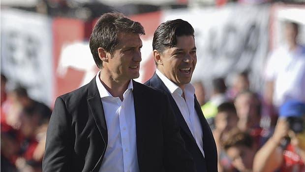 Gallardo y Guillermo definen los equipos