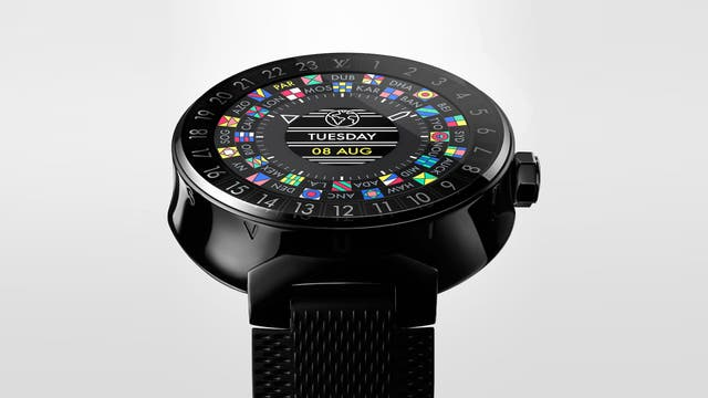 Un Louis Vuitton Tambour Horizon