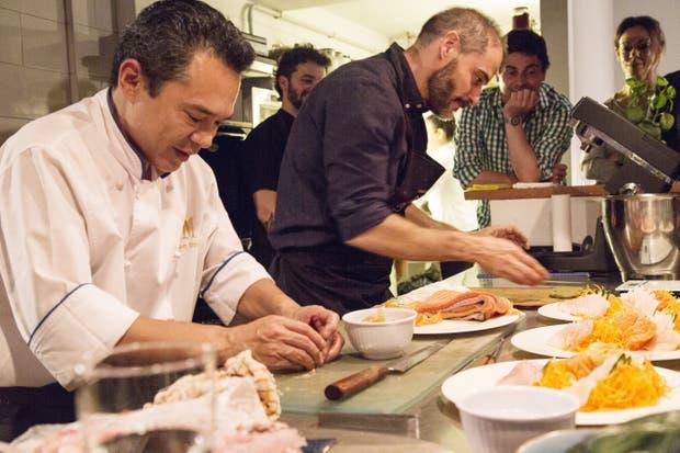El cocinero Fernando Mayoral abre su espacio y ofrece clases de cocina que culminan en cenas de 3 pasos