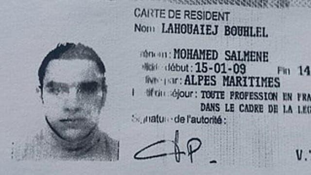 Mohamed Lahouaiej-Bouhlel el atacante de Niza