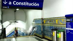 La estación Constitución de la Línea C estará cerrada hasta marzo por reformas