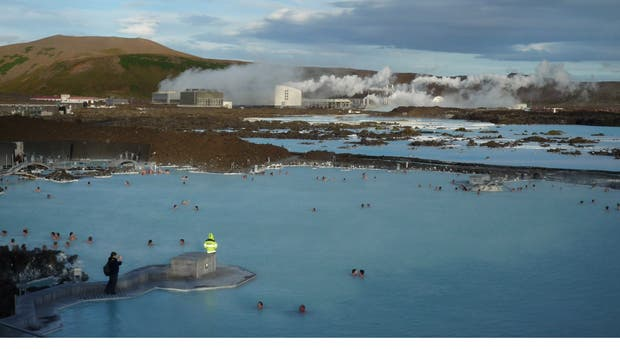 La Laguna Azul, pero islandesa