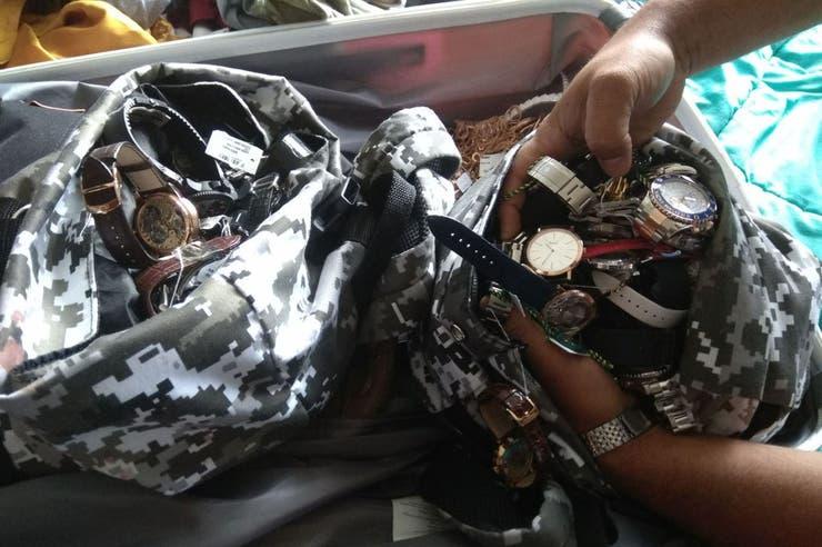 Relojes robados