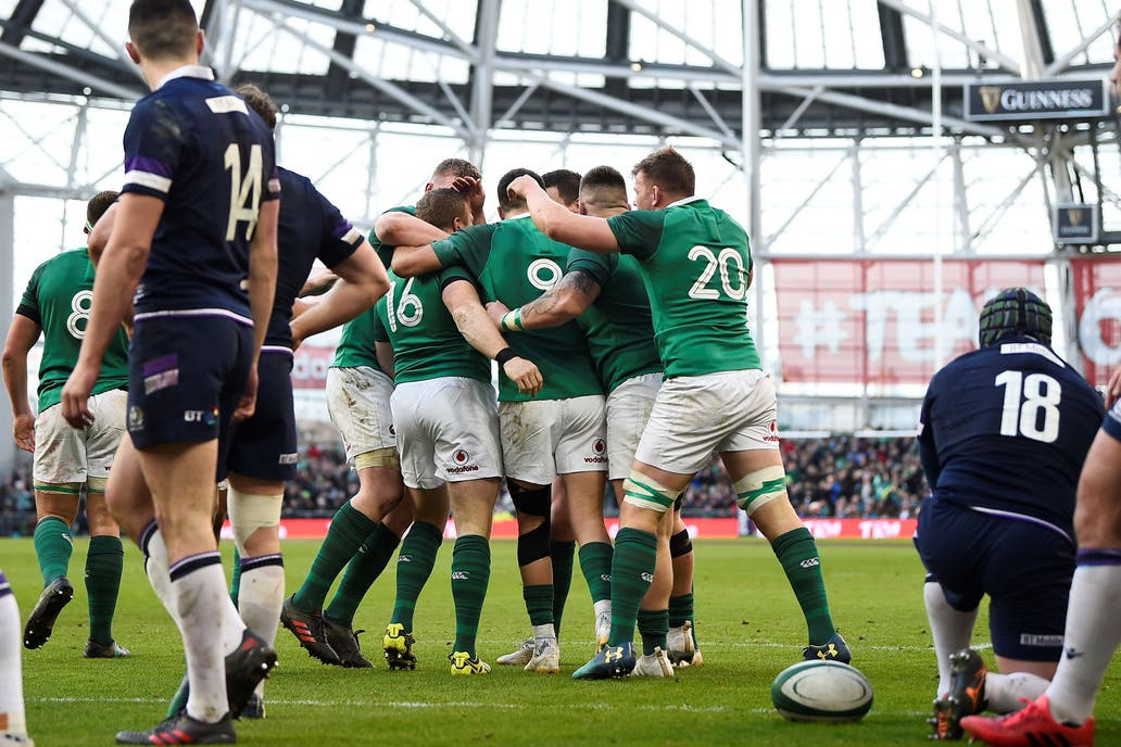 Irlanda conquistó el título — Seis Naciones