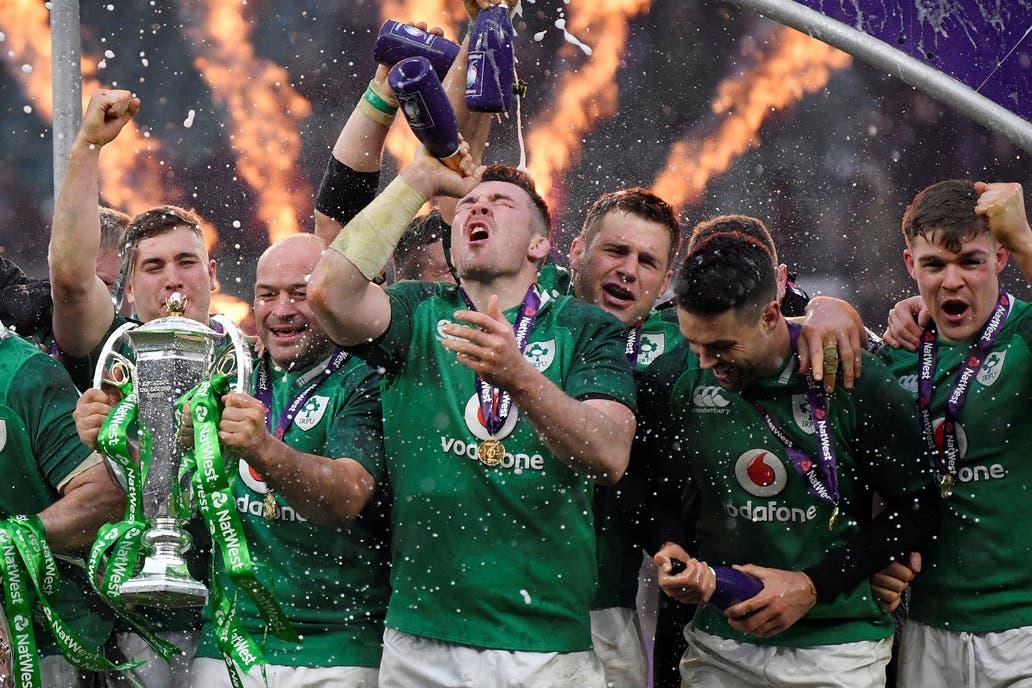 Irlanda domina el Rugby