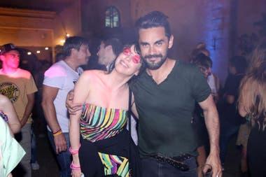 Gonzalo Heredia y Mercedes Funes, mucho más sonrientes que en las escenas que les tocó grabar juntos