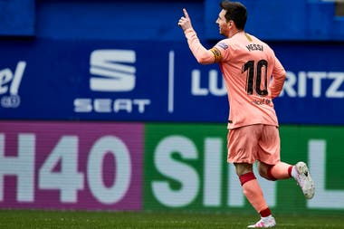 Lionel Messi consiguió su sexto Pichichi en la Liga de España