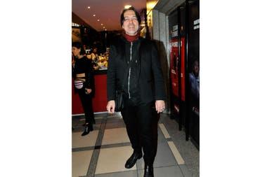 Esteban Prol también disfrutó del film, y en el evento se reencontró con colegas y amigos