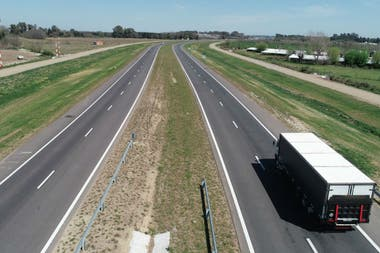 La autopista evita los choques frontales