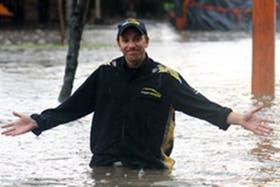 Lluvia en el Top Race en Resistencia, que está cerca de obligar a la suspensión de la prueba