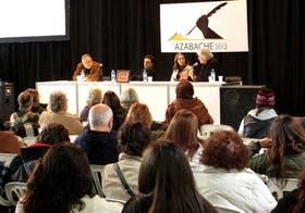 Mempo Giardinelli, Pablo De Santis, Mercedes Giuffré y Carlos Balmaceda