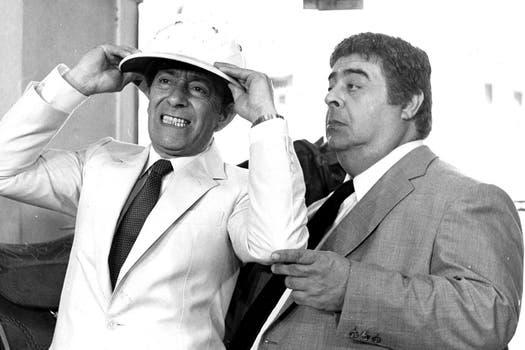 """Con """"Fresco y batata"""", Olmedo y Porcel se posicionaron como la dupla más emblemática del humor argentino. Foto: Archivo La Nación"""
