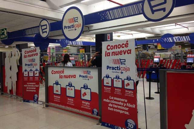 Carrefour comenzó una experiencia piloto en 2012