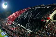 Una imagen de las transmisión del último partido de Newell''s en Rosario