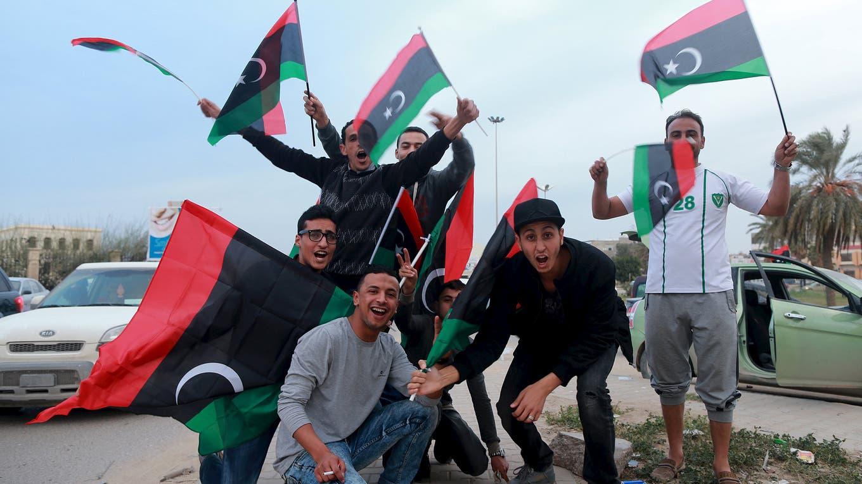 Esta semana, los libios celebraron los cinco años de la revolución que derrocó a Khadafy. Foto: Reuters