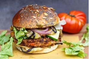 ¿Querés aprender a hacer hamburguesas veganas?