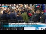 Mauricio Macri en la inauguración de la Rural. Fuente: TN