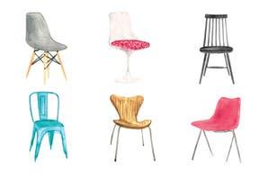 Las sillas de diseño que son íconos de la decoración