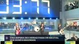 Cómo fue el recital de ocho segundos de un grupo japonés que generó expectativa por seis horas