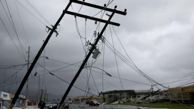 La isla entera de Puerto Rico está sin luz tras el paso del huracán María