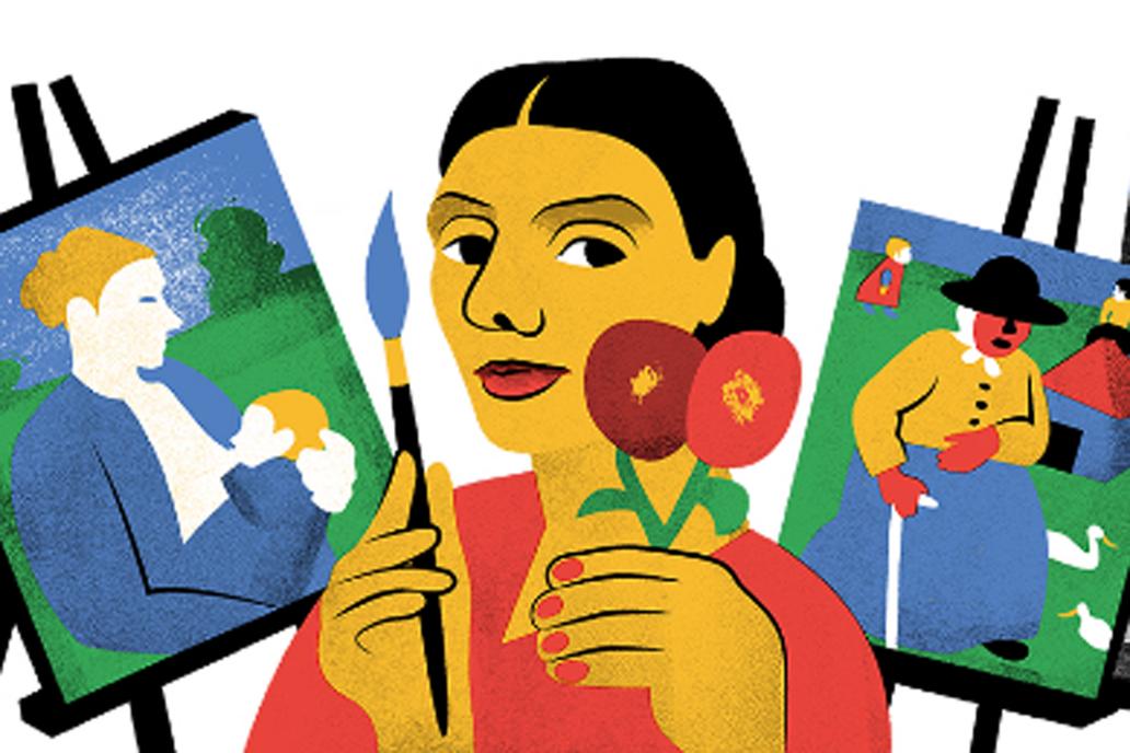 Google celebra el 142 aniversario de la pintora — Paula Modersohn-Becker