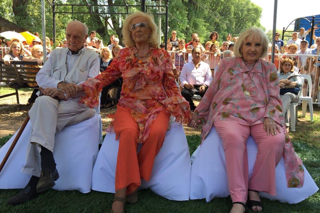 Mirtha Legrand y sus hermanos visitaron Villa Cañás