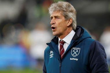 Pellegrini, hoy director técnico de West Ham, de Inglaterra.