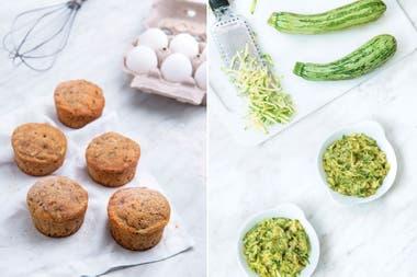 Muffins y crema untable: dos recetas para aprovechar la versatilidad del zucchini.