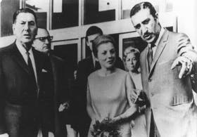 Juan Domingo Perón, María Estela Martínez de Perón y Jorge Antonio
