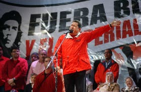 Como se preveía, Chávez dedicó su discurso a atacar a Bush