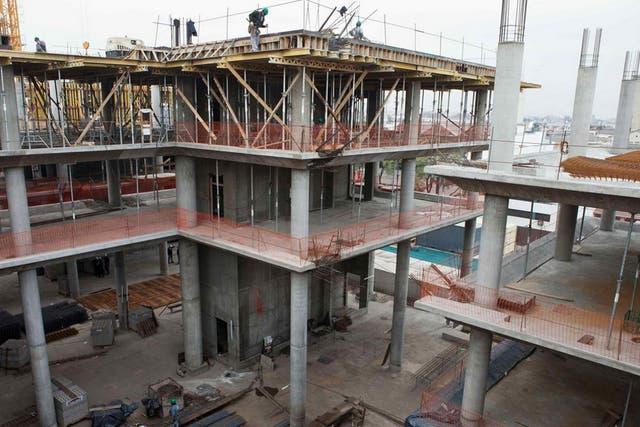 La construcción creció 13% en agosto
