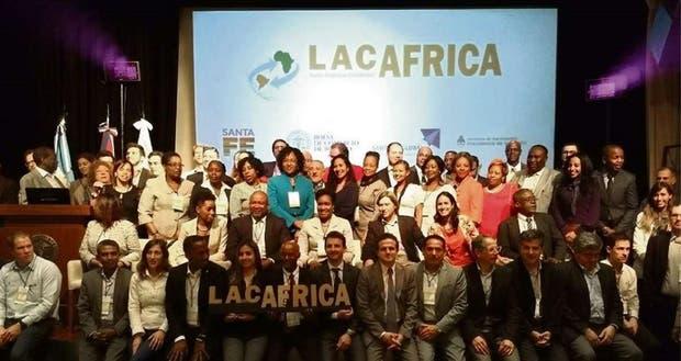 Los participantes de la cumbre de negocios con África