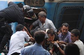 Marcos Antonio Córdoba conducía el tren del Sarmiento que chocó contra el anden de Once el 22 de febrero pasado