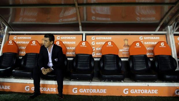 Gallardo, fuera de la Copa Libertadores