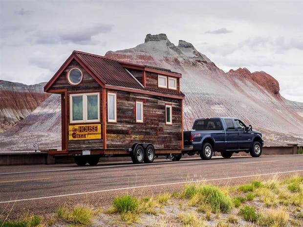 Los seguidores del movimiento tiny houses quieren, entre otras cosas, reducir su huella ecológica