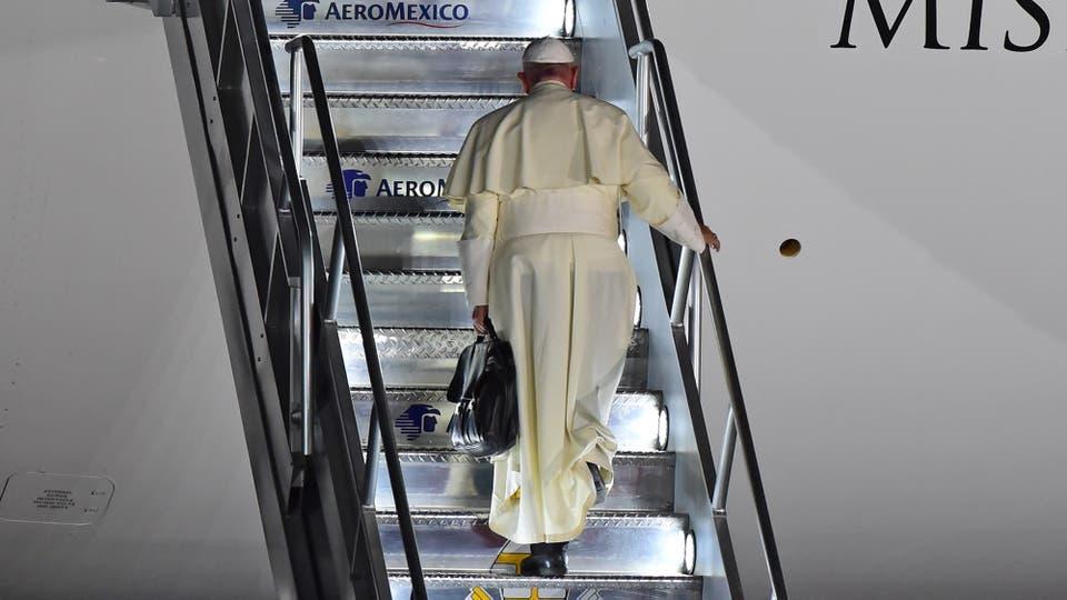 Rumbo al Vaticano. Foto: AFP