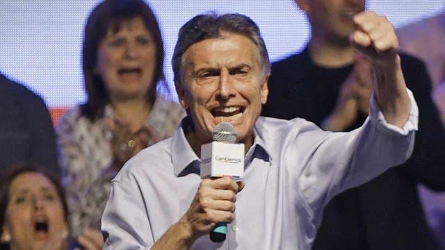 Macri, eufórico por el ingreso al ballottage