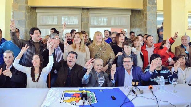 El PJ que acompaña a Carlos Menem, en La Rioja