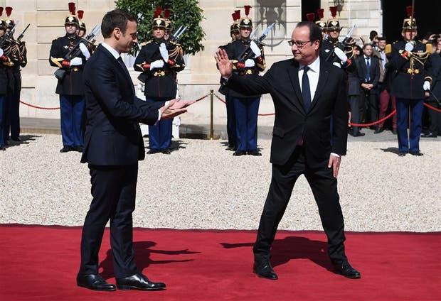 La despedida de Hollande del Elíseo