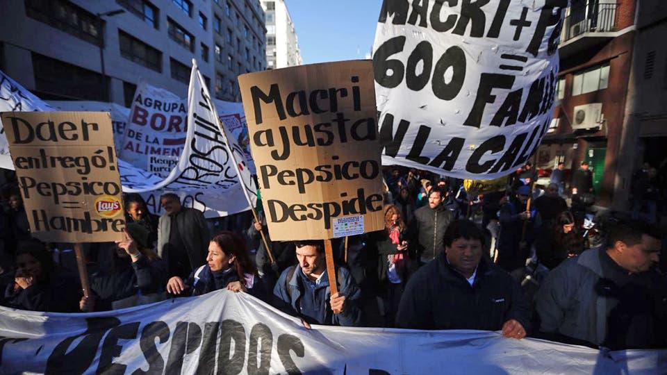 El cierre dejó unos 600 trabajadores sin su fuente laboral. Foto: LA NACION / Emiliano Lasalvia