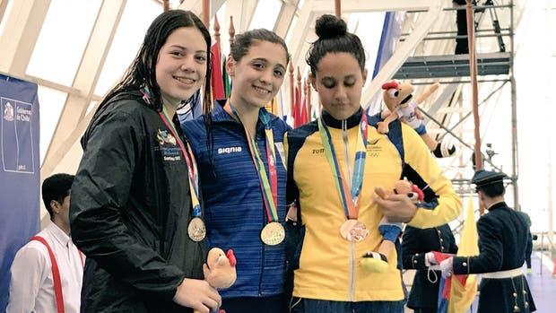 Delfina Pignatiello y su oro en los 800 metros