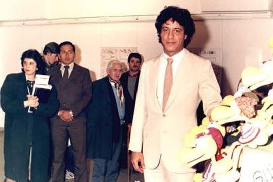 Caloi durante una exposición en octubre de 1987. Foto: www.caloi.com.ar