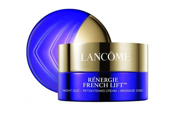 Renergie French Lift. Combate la pérdida de firmeza, las arrugas, las líneas de expresión y la falta de luminosidad. $4250, Lancôme.