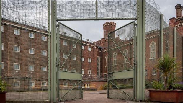 La arquitectura victoriana de la prisión, testigo del período más doloroso del escritor