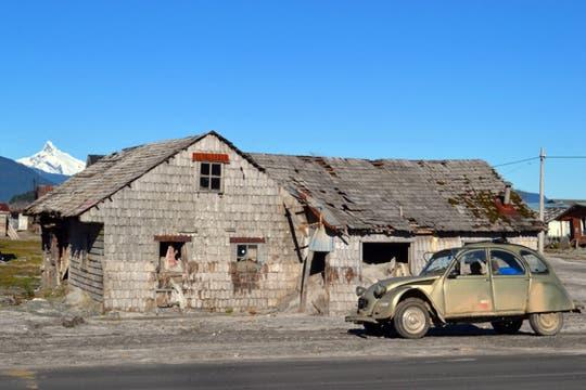 Cerca de la estancia El Rincón, los poblados son pintorescos. Foto: Fundación Tompkins