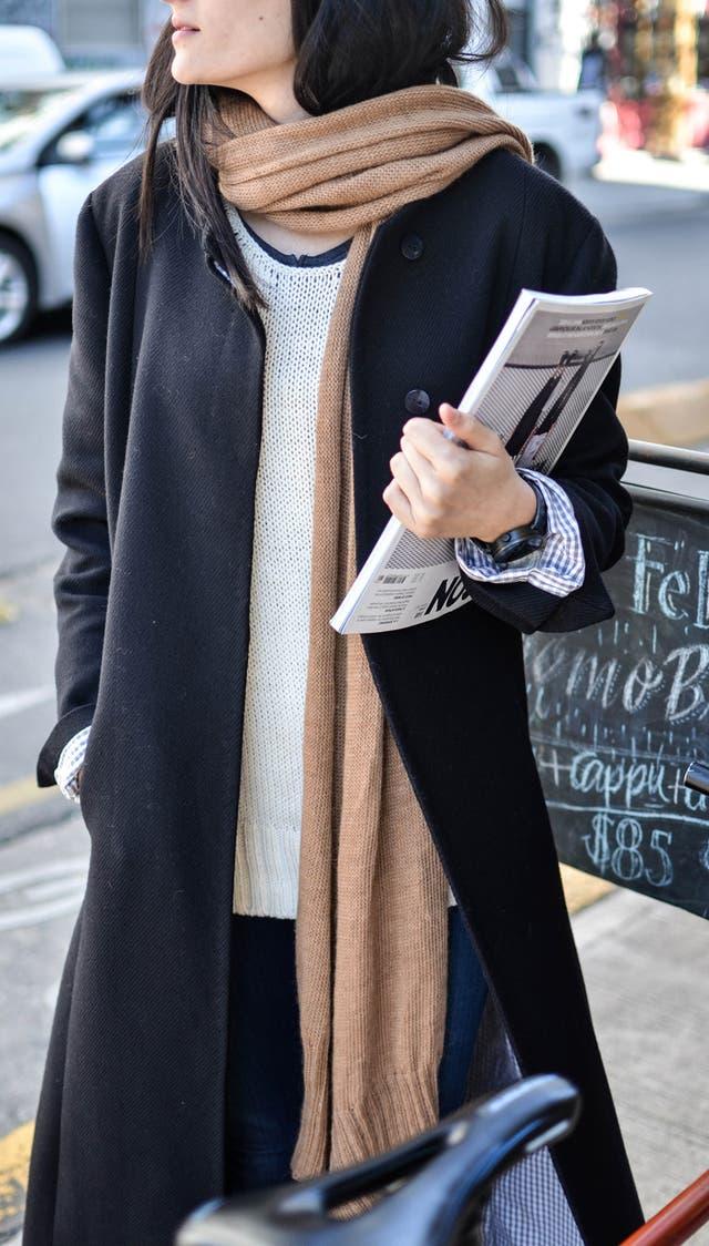 Tapado 100% lana merino patagónica y bufanda 100% llama baby tejida a mano de Cubreme
