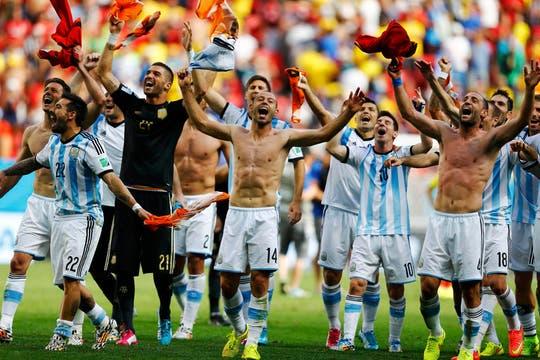 Argentina llega a semifinales después de 24 años. Foto: Reuters