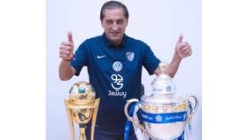 Ramón ganó dos títulos en Arabia