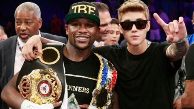 El boxeador y el cantante, en tiempos de paz