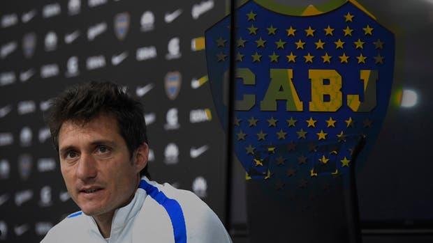 Guillermo Barros Schelotto y el nuevo Boca